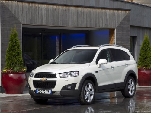 CHEVROLET CAPTIVA SUV AUTOMATIC 4WD 7 SEATS